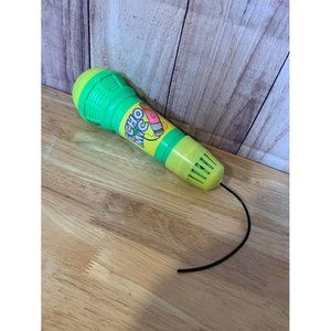 Green and Yellow Echo Microphone Singing Pretend